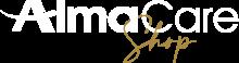 AlmaCareShop Logo Bianco